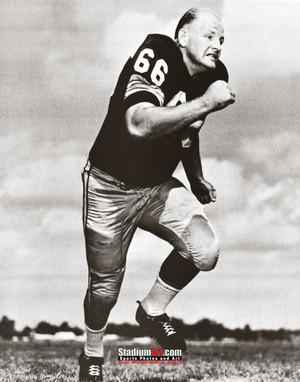 Green Bay Packers Ray Nitschke Football 8x10-48x36 Photo Print 55