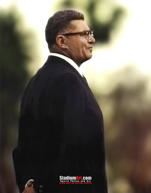 Green Bay Packers Vince Lombardi Football 8x10-48x36 Photo Print 50