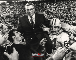Green Bay Packers Vince Lombardi Football 8x10-48x36 Photo Print 51
