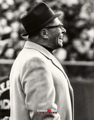 Green Bay Packers Vince Lombardi Football 8x10-48x36 Photo Print 54