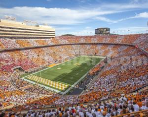 Tennessee Volunteers Neyland Stadium 03 11x14
