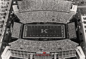 Kentucky Wildcats Commonwealth Stadium Football Field 8x10-48x36 Photo Print 50