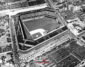 Los Angeles Dodgers Ebbetts Field Baseball Stadium LA BrooklynPhoto Art Print 8x10 or 11x14 or 40x30 StadiumArt.com Sports Photos