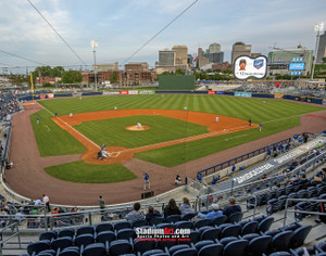 Nashville Sounds Minor League Baseball Stadium Photo Art Print 8x10 or 11x14 or 40x30