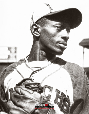 Satchel Paige Kansas City Monarchs Negro League Baseball Photo Art Print 8x10 or 11x14 or 40x30 StadiumArt.com Sports Photos