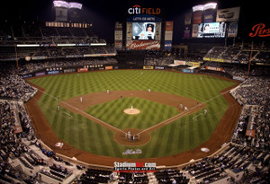 New York Mets Citi Field NY Baseball Stadium New York Mets Citi Field NY Baseball Stadium Photo Art Print 13x19 or 24x36 StadiumArt.com Sports Photos