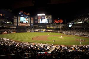 New York Mets Citi Field NY Baseball Stadium New York Mets Citi Field NY Baseball Stadium Photo Art Print 13x19 or 24x36 StadiumArt.com Sports Photos