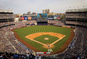 New York Yankees NY Yankee Stadium Baseball Field Photo Art Print 13x19 or 24x36 StadiumArt.com Sports Photos