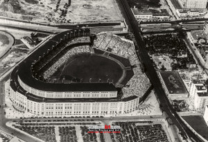 New York Yankees NY Old Yankee Stadium Baseball Field Photo Art Print 13x19 or 24x36