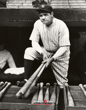 New York Yankees Babe Ruth NY Baseball Photo Art Print 8x10 or 11x14 or 40x30 StadiumArt.com Sports Photos