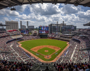 Atlanta Braves SunTrust Park New Baseball Stadium 02 MLB 8x10-48x36 CHOICES