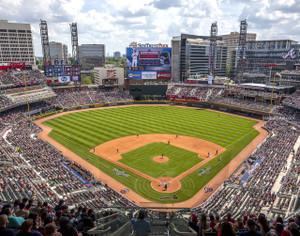 Atlanta Braves SunTrust Park New Baseball Stadium 03 MLB 8x10-48x36 CHOICES