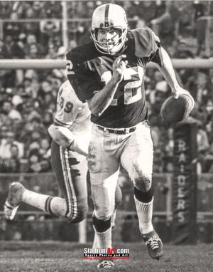 Oakland Raiders Ken Stabler Quarterback QB NFL Football Photo Art Print 8x10 or 11x14 or 40x30 StadiumArt.com Sports Photos
