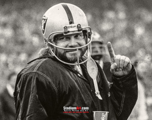 Oakland Raiders Ken Stabler Quarterback QB NFL Football Photo Art Print 8x10 or 11x14 or 40x30 StadiumArt.com Sports Photos
