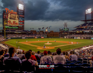 Philadelphia Phillies Citizens Bank Park Baseball Stadium Photo Art Print 8x10 or 11x14 or 40x30 StadiumArt.com Sports Photos