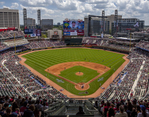 Atlanta Braves SunTrust Park New Baseball Stadium 02b MLB 8x10-48x36 CHOICES