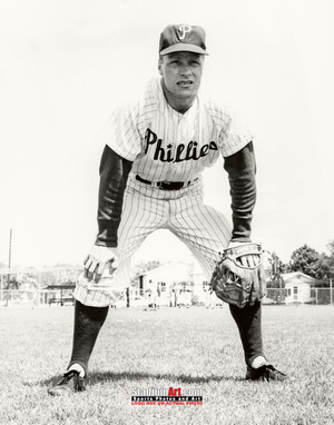 Philadelphia Phillies Ritchie Asburn Baseball Player Photo Art Print 8x10 or 11x14 or 40x30 StadiumArt.com Sports Photos