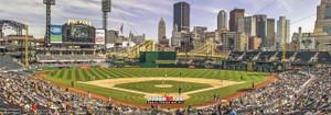 Pittsburgh Pirates PNC Park Baseball StadiumPhoto Art Print 13x37 StadiumArt.com Sports Photos