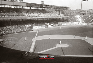 Polo Grounds Baseball Stadium New York Photo Art Print 8x10 or 11x14 or 40x30 StadiumArt.com Sports Photos