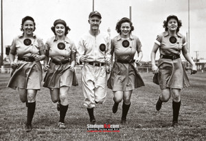 Rockford Peaches Women's Baseball League Photo Art Print 13x19 or 24x36 StadiumArt.com Sports Photos