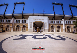 TCU Horned Frogs Football Stadium Texas Christian University Photo Art Print 13x19 or 24x36 StadiumArt.com Sports Photos