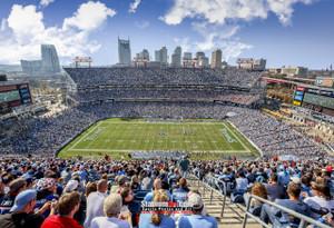 Tennessee Titans Nissan Stadium NFL Football Photo Art Print 13x19 or 24x36 StadiumArt.com Sports Photos