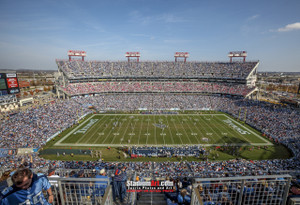 Tennessee Titans Nissan Stadium NFL Football Photo Art Print 13x19 or 24x36 StadiumArt.com Sports Photos