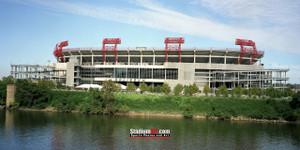 Tennessee Titans Nissan Stadium NFL Football Photo Art Print 13x26 StadiumArt.com Sports Photos