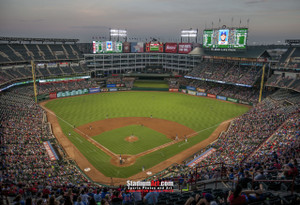 Texas Rangers Globe Life Park in Arlington MLB Baseball Stadium 13x19 or 24x36 photo StadiumArt.com Sports Photos