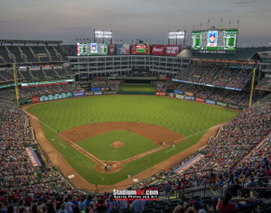 Texas Rangers Globe Life Park in Arlington MLB Baseball Stadium 8x10 or 11x14 or 40x30 photo StadiumArt.com Sports Photos