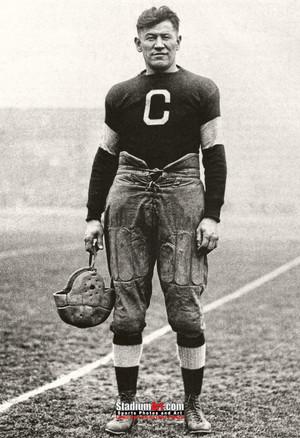 Jim Thorpe Football Standing 13x19 or 24x36 photo StadiumArt.com Sports Photos