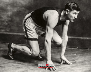 Jim Thorpe Track Stance 8x10 or 11x14 or 40x30 photo StadiumArt.com Sports Photos