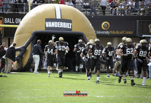 Vanderbilt Football Stadium Vandy Commodores Dudley Field 13x19 or 24x36 photo StadiumArt.com Sports Photos