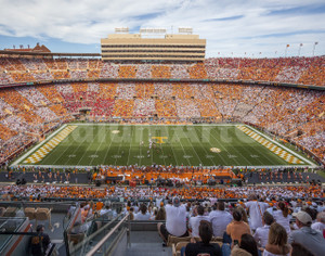 Tennessee Volunteers Neyland Stadium 02 11x14