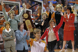 Tennessee Volunteers Women's Basketball Pat Summitt Lady Vols 03 13x19 or 24x36 photo StadiumArt.com Sports Photos