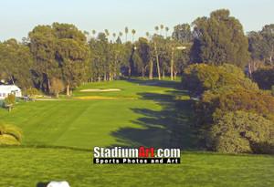 Riviera Country Club Golf Hole 1  8x10-48x36 Photo Print 1210