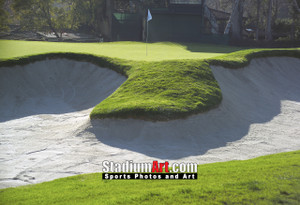 Riviera Country Club Golf Hole 16 8x10-48x36 Photo Print 1235