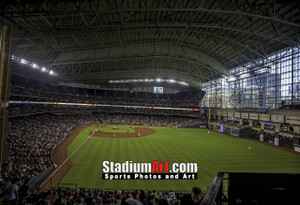 Houston Astros Minute Maid Park MLB Baseball Photo 1310 8x10-48x36