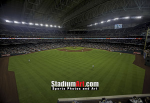 Houston Astros Minute Maid Park MLB Baseball Photo 1330 8x10-48x36