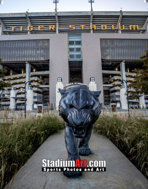 LSU Tigers Tiger Stadium 1330 8x10-48x36 1210