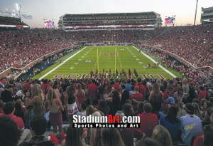 Ole Miss Rebels Mississippi Vaught Hemingway Stadium NCAA College Football 8x10-48x36 Photo Print 5210
