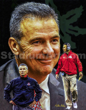 Urban Meyer Ohio State Buckeyes Head Coach