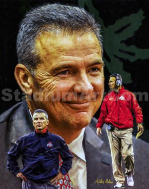 Urban Meyer Ohio State Buckeyes Head Coach