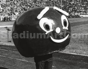 Brutus Mascot Old Ohio State Buckeyes