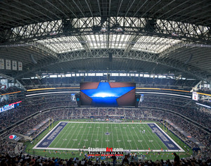 Dallas Cowboys AT&T Stadium 01 NFL Football ATT 8x10-48x36 CHOICES
