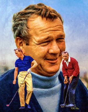 Arnold Palmer Professional Golfer PGA Golf Professional Golfer Art Print 8x10 or 11x14 or 16x20 or 40x30 StadiumArt.com Sports Photos