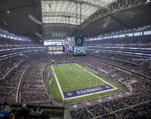 Dallas Cowboys AT&T Stadium 03 NFL Football ATT 8x10-48x36 CHOICES
