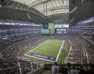 Dallas Cowboys AT&T Stadium 04 NFL Football ATT 8x10-48x36 CHOICES