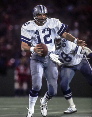 Dallas Cowboys Roger Staubach 51 NFL Football 8x10-48x36 CHOICES