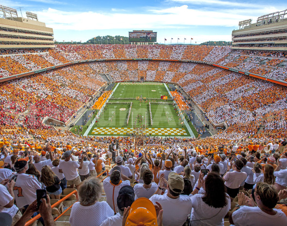 Tennessee Volunteers Neyland Stadium 11x14